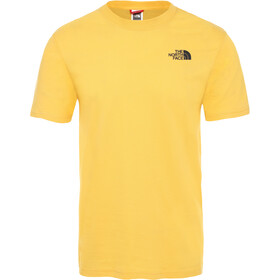 The North Face Redbox S/S Tee Herre TNF Yellow/TNF Black